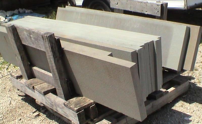 Bluestone Treads Patio Stone Wall Stone