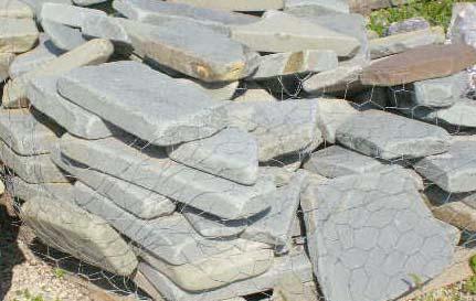 Bluestone Tumbled Patio Stone Wall Stone