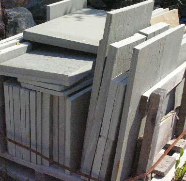 Bluestone Cut Patio Stone Wall Stone
