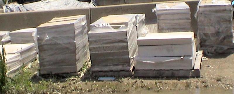 Limestone Dimensional White Patio Stone Wall Stone