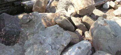 Large Michigan Landcape Boulders