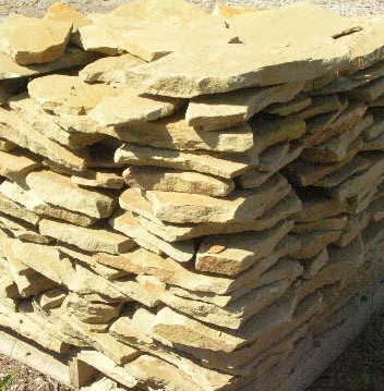 Michigan Sandstone Patio Stone Wall Stone