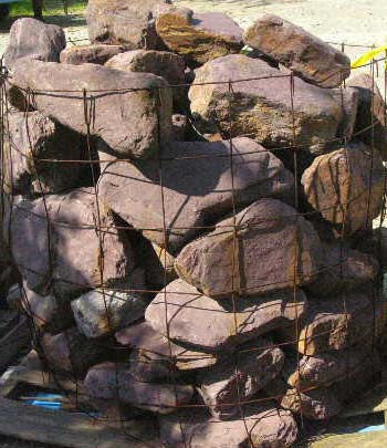 Purple Wallstone Patio Stone Wall Stone