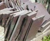 Purple Slate Patio Stone Wall Stone