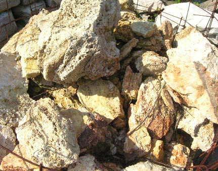 Travertine Boulders