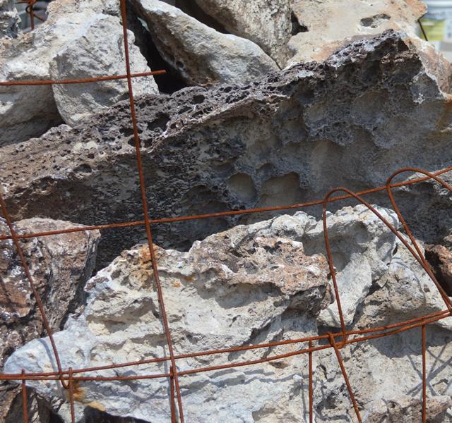 Volcanic Ash (Lace Rock)